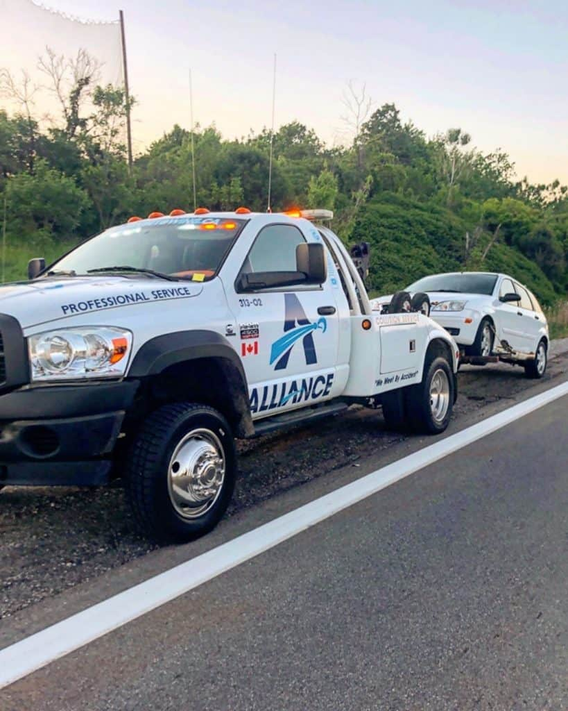 Alliance Towing Ottawa Tow Truck