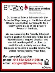 Recruitment of Bilingual Participants