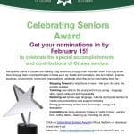 Ottawa Seniors Awards Nominations